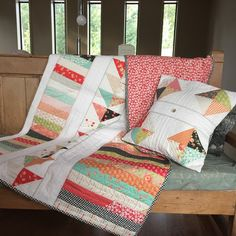 Modern Country Quilt Country Quilts, Modern Country, Fabric Patterns, Blanket, Bed, Home, House, Modern Country Style