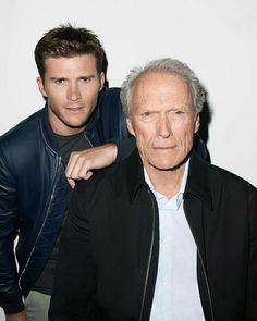 Scott and Clint Eastwood