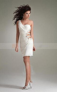 Favodresses.com is a professional women's dresses online shop,where you can find your favourite Bodycon Sheath Short White Dress.