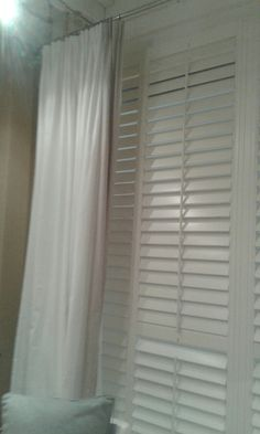 Blinds, Curtains, Home Decor, Shutters, Insulated Curtains, Blind, Interior Design, Home Interiors, Shades