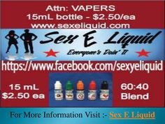PPT - Best Tasting E Liquid - Sex E Liquid PowerPoint Presentation