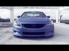 "Honda Accord Bagged on 20"" Vossen VVS-CV3 Concave Wheels | Rims"