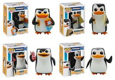 Original Funko pop Movie The Penguins of Madagascar Rico Skipper Figure Collectible Model Toy with Original box Pop Figurine, Figurines Funko Pop, Funk Pop, Best Funko Pop, Funko Pop Dolls, Penguins Of Madagascar, Pop Toys, Pop Characters, Pop Vinyl Figures