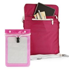 Quality Modern Messenger Style, Hot Magenta Vangoddy Select 10 Inch Hydei Clutch Sleeve Cover for All Models of the ThinkPad Tablet 2 Tablet (Lenovo Think Pad Tablet 2, Windows Pro 8, 10.1 Inch Tablet) + Waterproof Tablet Bag Case fits 8 - 10 inch Tablets by VG Inc. $19.45. Introducing Vangoddys Premium Hydei Sleeve Collection! The Hydei sleeve is a one of kind fashion forward modern messenger style case and best of all is the quality! Our Hydei collection is const...
