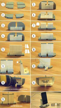 Lego dock tutorial by facebook.com/kontaktstore