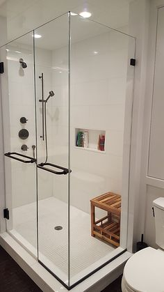 Standup Tile Shower In The Master Bathroom In The Finley Craftsmas - Best way to clean stand up shower