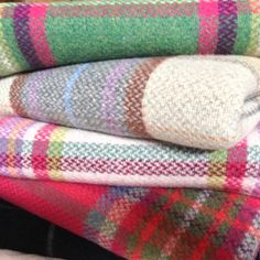 Look forward to a cosy winter.  Country Living / Riverside Lifestyle / Merino Wool throws
