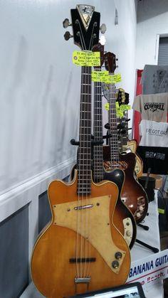 Rare 1957 Kay Blond Jazz Special Bass #Guitar