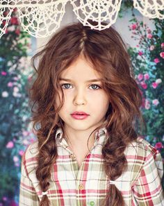 Nice messy pleats #kids #hair