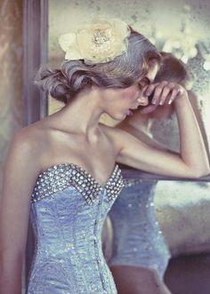 Caitlin Bellah for Bibian Blue corsetry