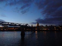 entardecer em Londres