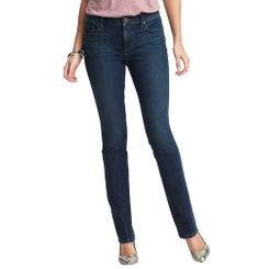 Supreme Modern Straight Leg Jeans in Debate Blue   Loft