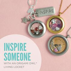 Origami Owl Living Lockets tell a story - What is your story? Come check out all the fun at our website www.sabrinauntangled.origamiowl.com Designer# 37146