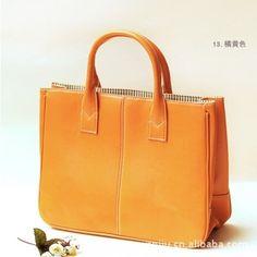 2014 nova Vintage sacos saco de couro mulheres celebridade Tote bolsa de ombro bolsa 12 cores grátis frete transporte da gota