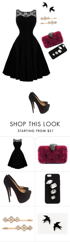 """""""Untitled #115"""" by erin-mccamy ❤ liked on Polyvore featuring Benedetta Bruzziches, Christian Louboutin, STELLA McCARTNEY and Henri Bendel"""