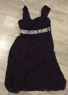 Kaufe meinen Artikel bei #Kleiderkreisel http://www.kleiderkreisel.de/damenmode/kurze-kleider/143737248-kleid-lila-mit-pailletten