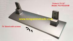 TruTech TV: PLV16320VM / Stand: PLV16320 with screws (4) / Important News #TruTech