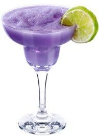 Grape Slushy - White Grape Juice, Grape Sour Puss, Sprite & Ice ~ Blended.