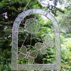 Clear glass - two butterflies Clear Glass, Butterflies, Outdoor Structures, Garden, Garten, Lawn And Garden, Butterfly, Gardens, Gardening