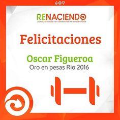 Felicitaciones a Oscar Figueroa por su medalla en río #oro #pesas #colombia…