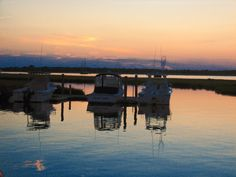 Sunset boats photograph by WaterDropletDesigns on Etsy