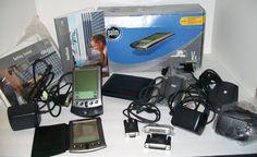 Bundle of 2 Palm V X Handheld Connected Organizer PDA Slim Accessories Lot VX #Palm