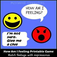 Printable social skills Game