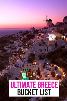 Hands down, the best things to add to your Greece bucket list! Don't miss these iconic stops, attractions and eats! #Greece #Bucketlist | greece travel guide | where to go in Greece | vacation in Greece | places to visit in Greece | what to do in Greece | travel to greece | trip to greece | things to do in Santorini | greece bucket list | travel bucket list | Travel Europe Cheap, Travel Through Europe, Europe Travel Guide, European Travel, Travel Usa, Travel Guides, Greece Trip, Greece Vacation, Greece Travel