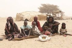 Etta Brahim Senussi and her family are struggling to cope with the food crisis in Chad.