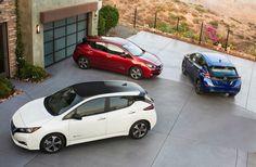 Новая модель электрокара Nissan Leaf http://bit.ly/2xaeIOa  #Nissan #Leaf