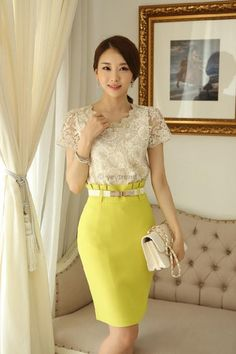 New 2015 Summer Fashion Korean Style Elegant Office Shirts Short Sleeve Beading And Crochet Women Lace Blouse Womens Tops 89B3