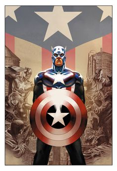 Captain America by Steve Epting