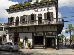Whistle Bar / The Bull bars, Duval St Key West FL
