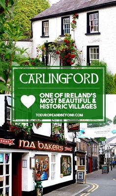 Awe-inspiring photos and insider info on the beautiful village of Carlingford, wedged between Dublin and Belfast, and part of #IrelandsAncientEast in #Ireland via @marievallieres