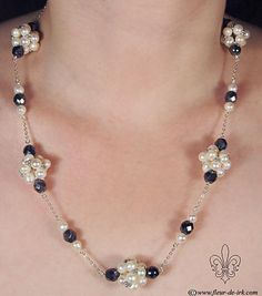 Pearl-n-silver collection N990 by Fleur-de-Irk.deviantart.com
