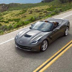 "photo: ""Do you use your for work? Chevrolet Corvette Stingray, Chevrolet Silverado, Chevy, My Dream Car, Dream Cars, Corvette Convertible, Luxury Cars, Super Cars, Trucks"