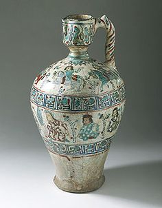 Ewer from Iran, Late 12th to Early 13th Century, Los Angeles County Museum of Art