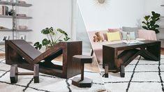 DIY- og haveprojekter, vejledninger, idéer til hobbyarbejde og mere Diy Bench, Bench With Storage, Homemade Bench, Decoration Palette, Adjustable Weight Bench, Weight Benches, Kitchen Benches, Diy Coffee Table, Bench Plans