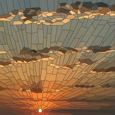 Find Vector Illustration Sunset Clouds Stained Glass stock images in HD and millions of other royalty-free stock photos, illustrations and vectors in the Shutterstock collection. Thousands of new, high-quality pictures added every day. Stained Glass Designs, Stained Glass Panels, Stained Glass Projects, Stained Glass Patterns, Stained Glass Art, Mosaic Glass, Mosaic Designs, Mosaic Artwork, Mosaic Wall Art