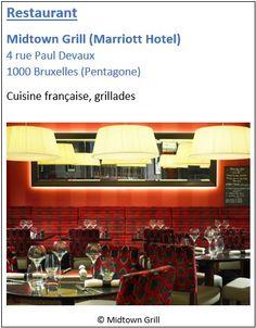 Restaurant Midtown Grill - 4 rue Paul Devaux - Pentagone
