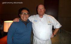 With Mario Batali at JCF 2012