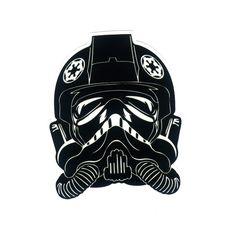 #1191 Star Wars Stormtrooper Pilot , Height 8 cm, decal sticker - DecalStar.com