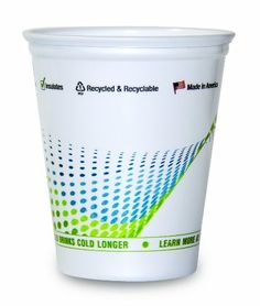 InCycle 18oz Recycled Cold Drink Cup, Green & Blue Helix, 50ct by InCycle. $7.70. It's time to get out of the red with a GREEN cup from InCycle...  InCycle 18oz Cold Drink Cup, Green & Blue Helix, 50ct