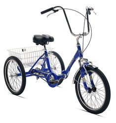 Get off now on Kent International Kent Adult Westport Folding Tricycle Adult Tricycle, Tricycle Bike, Three Wheel Bicycle, Cruiser Bicycle, Trike Bicycle, Bicycle Tools, Bicycle Design, Bike Accessories, Vintage Bicycles