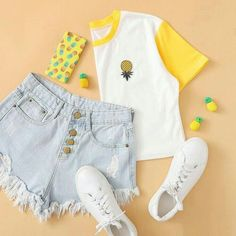(notitle) Source by stellagoona tween outfits for school casual Teenage Outfits, Cute Teen Outfits, Cute Summer Outfits, Outfits For Teens, Pretty Outfits, Stylish Outfits, Girl Outfits, Office Outfits, Holiday Outfits