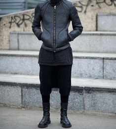 LAYERS OF BLACK #Menswear #men #wear #style #outfit #fashion #guys #boys #stylish #streetstyle