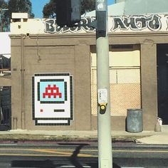 Shared by lastreetartgallery #spaceinvader #unas (o) http://ift.tt/1QgEguW to see @invaderwashere back up on Beverly!  _____________________________________________ #streetart #losangeles #space #invader #art #streetartist #graf #urbanart #rsa_graffiti #rsa_preciousjunk #rsa_streetview #dsb_graff #artist #arte #arteurbano #royalsnappingartists #tv_streetart #infamous_family #igla #igersla #LA #mosaic #tile  (at Beverly Auto Body)  Follow @locoliinda on Instagram or…