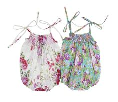 Image of Coco & Ginger Petal Sunsuit (French Flower)