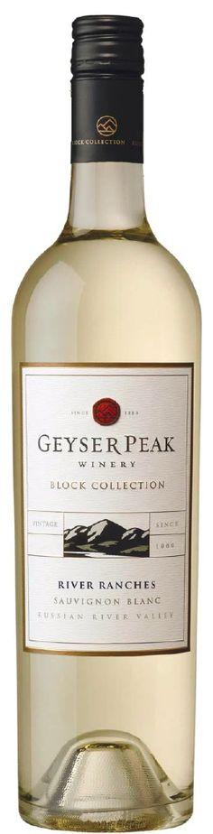 2011 Geyser Peak River Ranches Sauvignon Blanc.
