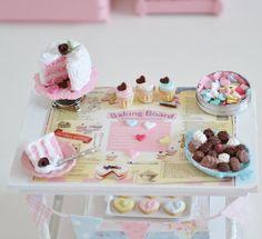 Sweet Petite Valentine's Day Baking Board Set by SweetPetiteShoppe, $32.00
